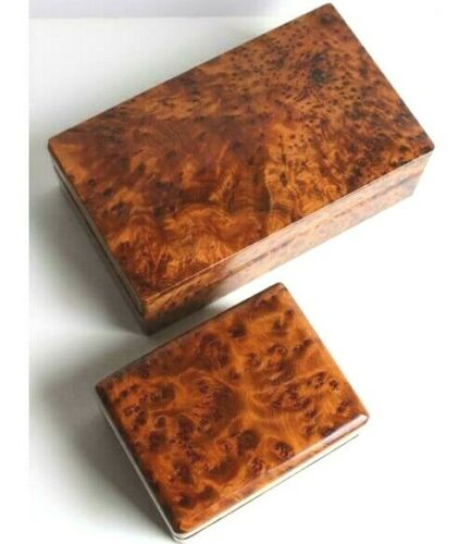 storage boxes thuya wooden jewelry boxes two of thuya wood handmade in moroccan