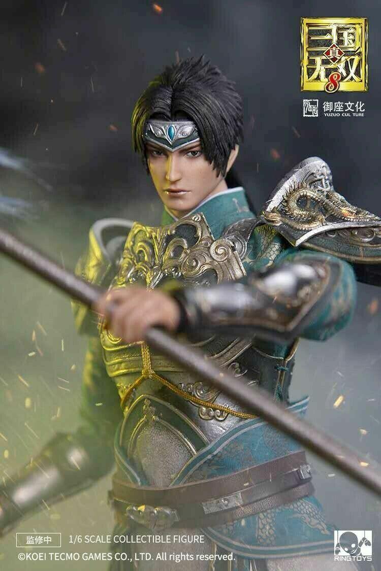 1 6th Ringgiocattoli Dynasty  Warriors Zhao Yun Male cifra caliente Koei gioco modellololo  ultimi stili
