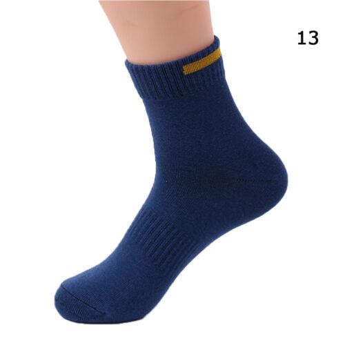 New Men Towel Crew-Athletic Basketball Football Sports Elite Mid Calf Soft Socks