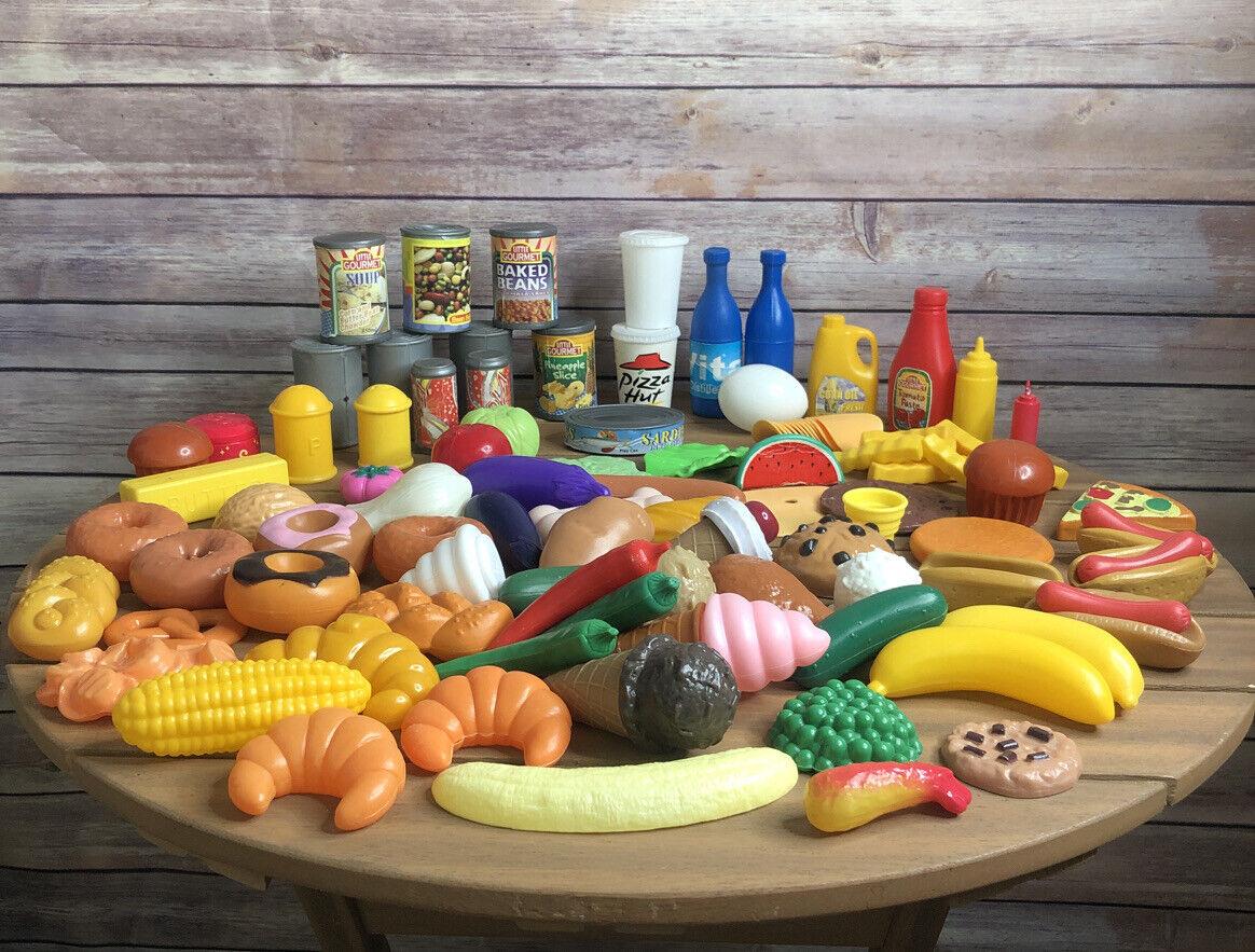 Pretend Play Food Lot Pieces Kids Kitchen Accessory Ebay