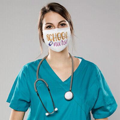 Cotton Washable Reusable Face Mask School Nurse Rn Registered Nursing  Profession | eBay