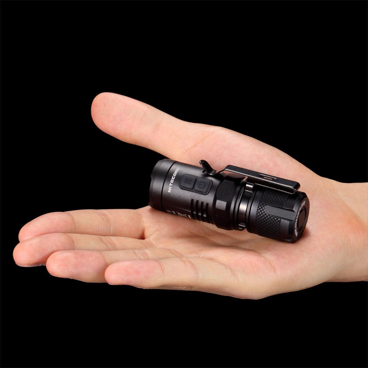 Nitecore EC11 U2 900 Lumens Brightest Mini Cree XM-L2 U2 EC11 LED Flashlight aa2ea9