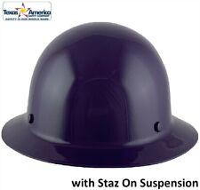 Msa Skullgard Full Brim Hard Hat With Staz On Suspension Purple