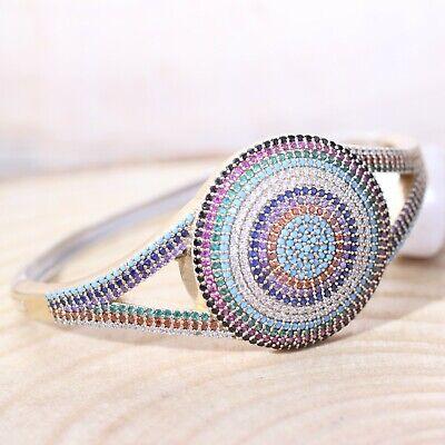 Turkish Handmade Jewelry Sterling Silver 925 Turquoise Bracelet Bangle Cuff