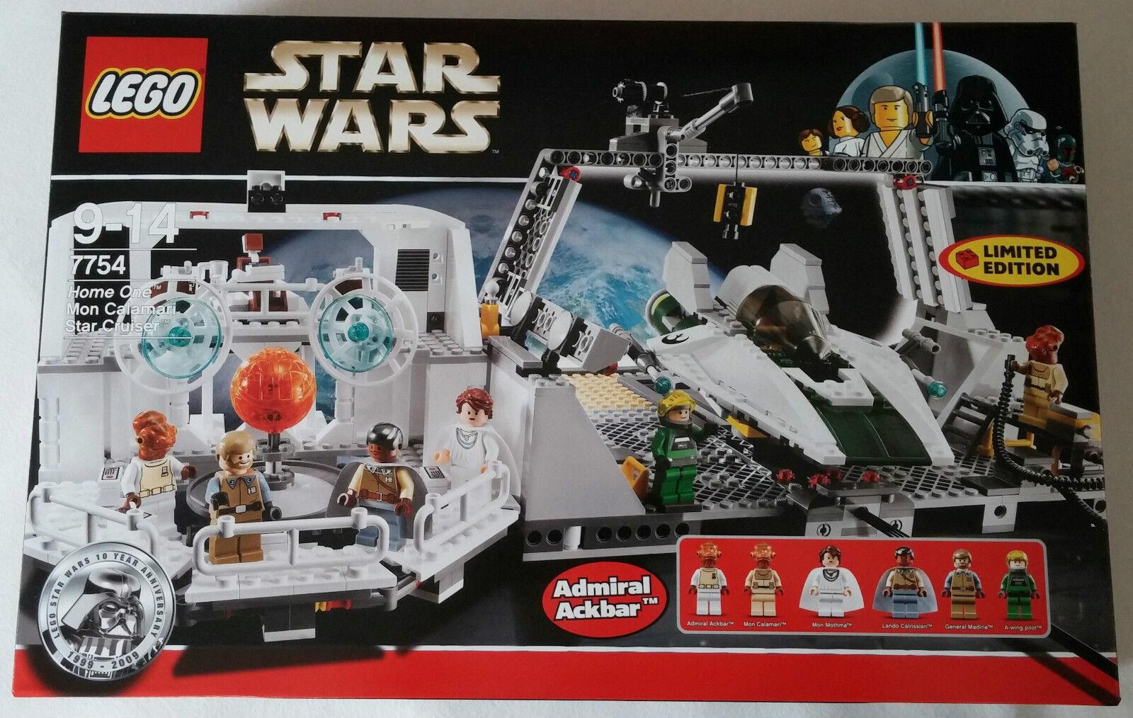 LEGO ® star wars ™ 7754 Home One Mon calmars star CRUISER NEUF & OVP new sealed