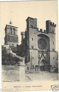 34-cpa-BEZIERS-L-039-eglise-St-Nazaire-i-4820