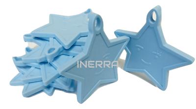 Inerra ® Baby Blue Star Globo Pesos para Globos de Helio-opciones de tamaño de envase