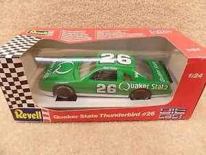New-1992-Revell-1-24-Scale-Diecast-NASCAR-Brett-Bodine-Quaker-State-Thunderbird
