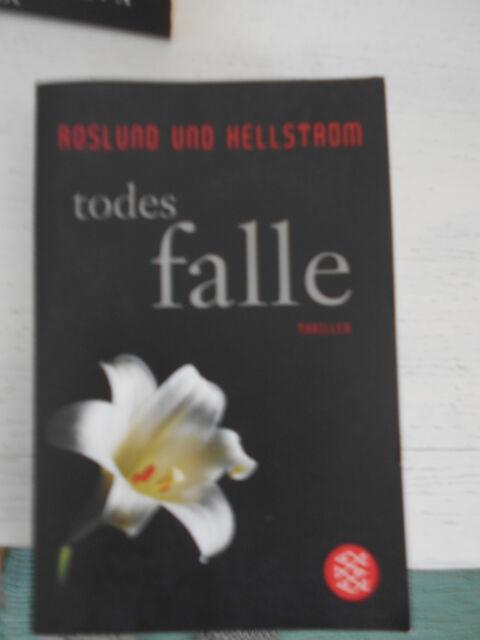 Todesfalle Roslund und Hellstrom Thriller super spannend