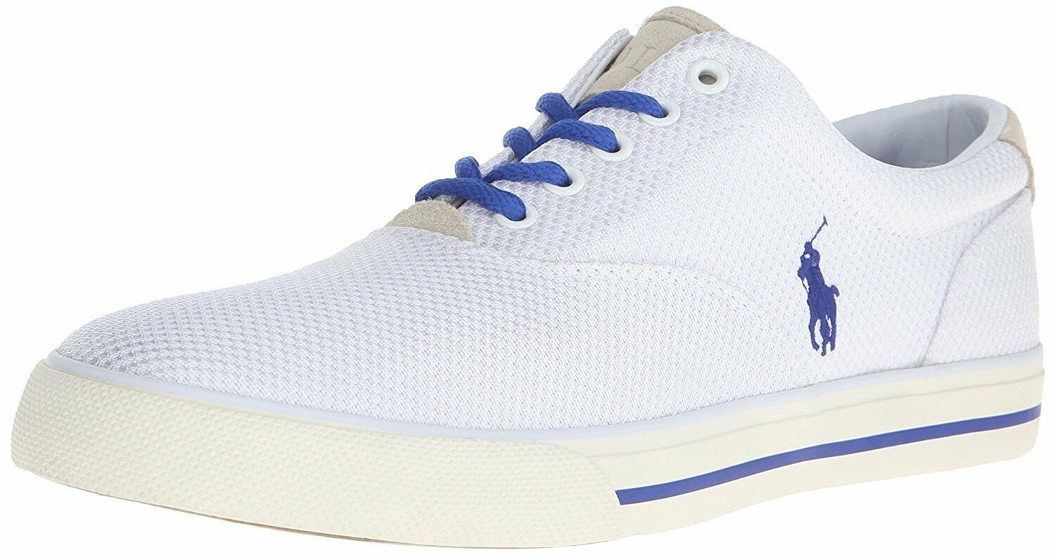 Polo Ralph Lauren Men's Vaughn Dotted Mesh Fashion Sneaker
