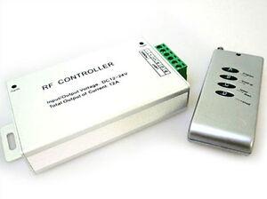 Ecu-Set-Controlador-RGB-Control-remoto-RF-Inalambrico-Para-Bobina-LED-12V-24V