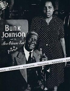 Bunk Johnson - Jazzmusiker - um 1950 (?)      O 16-13