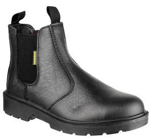 Amblers-FS116-Para-Hombre-Damas-tirar-en-Distribuidor-De-Seguridad-Negro-Boot-3-15