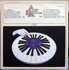 CLS ARTURO BENEDETTI MICHELANGELI LIVE grieg & schumann piano LP Mint- MCL 2006
