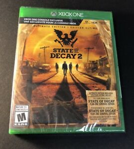 State of Decay 2 [ Ultimate Edition ] (XBOX ONE) NEW