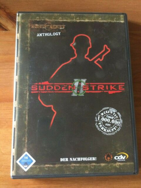 Sudden Strike II Sudden Strike Anthology (PC, 2004, DVD-Box)