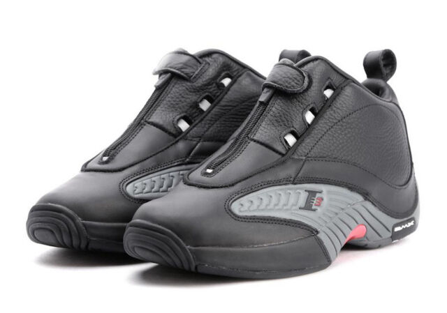 32c9990140dd4f Reebok The Answer 4 IV Stepover Allen Iverson 8 Black Red 76ers V44961  Question