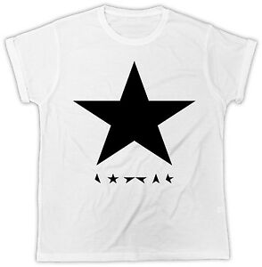 Official David Bowie Fitted Black T-Shirt US IMPORT Stars