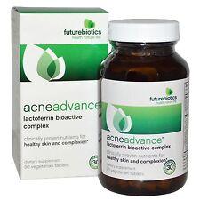 Futurebiotics Acne Advance Lactoferrin Bioactive Complex, 90 Vegetarian Tablets