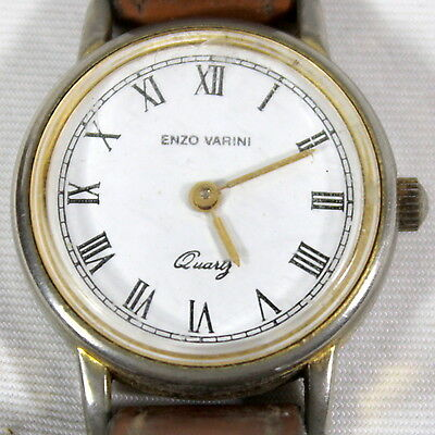Charitable Montre Bracelet Marque « Enzo Varini » Diamètre Environ 2.4 Cm Numerous In Variety Jewelry & Watches