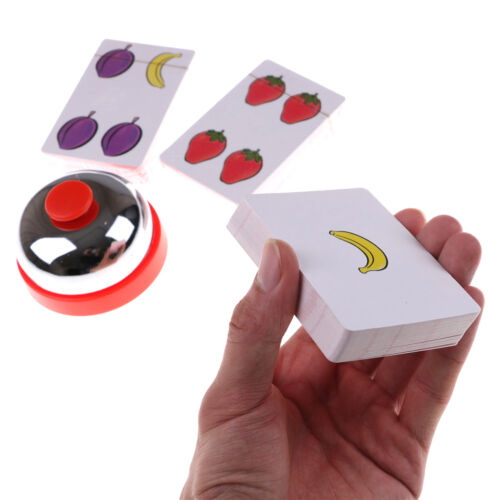 Halli Galli Board Game 2-6 Players Cards Game For Party//Family Easy To Play Jf