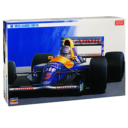 Williams Renault FW14 Nigel Mansell Kit Bausatz 1//24 Hasegawa Modell Auto mit od
