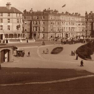 Vintage-1949-RPPC-Grand-Parade-Eastbourne-Pier-Postcard-United-Kingdom-UK
