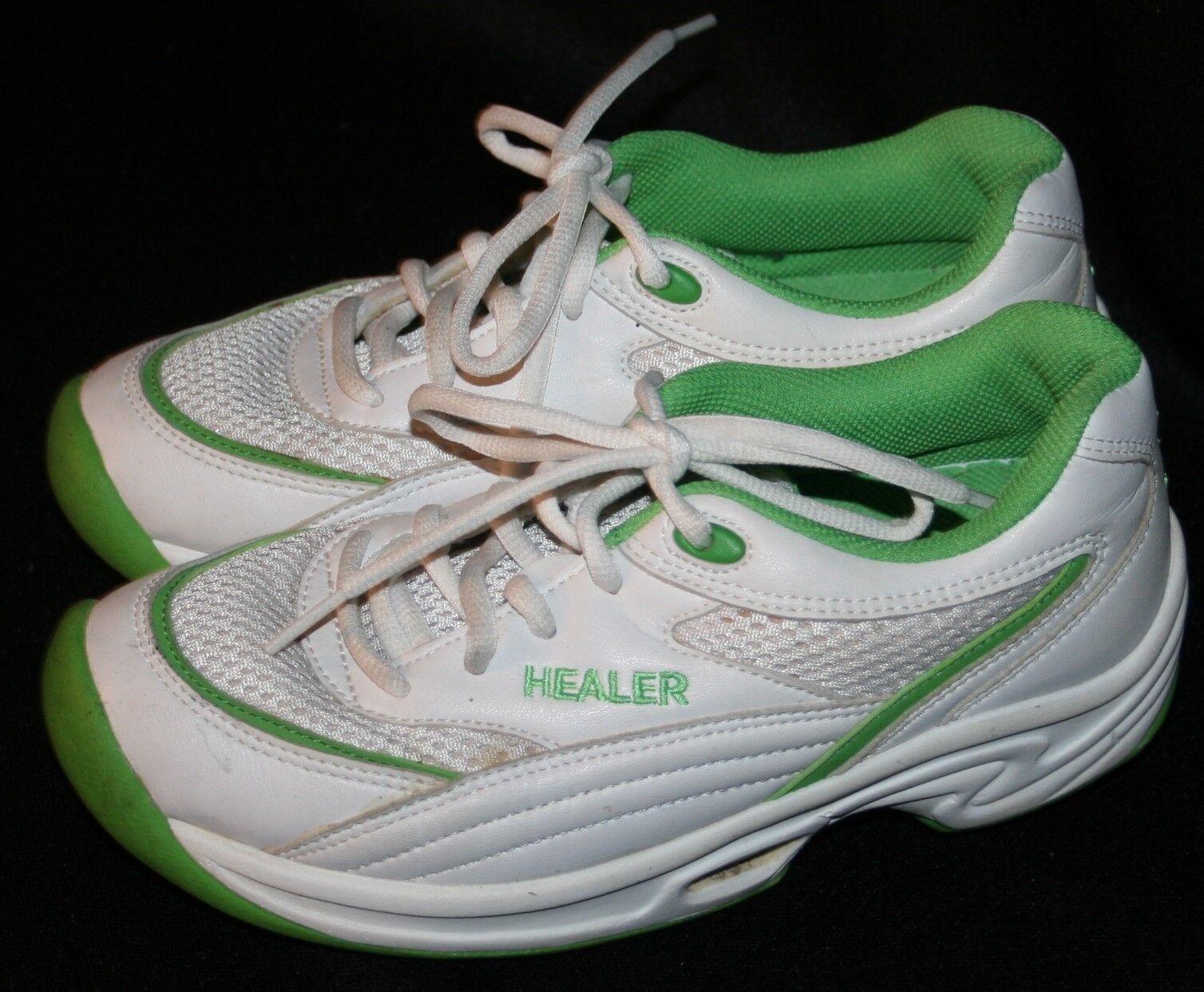 Healer Sneakers Athletic shoes 6 Korean White Green Walking Toning Korea Healers