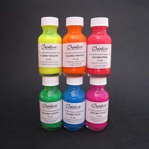 Creative Cake Decorating FLUORO (neon) Liquid Colour 25ml - choice ...