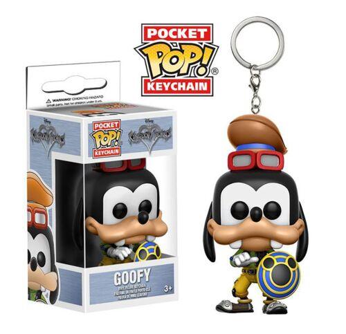 Funko POP Goofy Figure Vinyl Keyrings Disney Kingdom Hearts