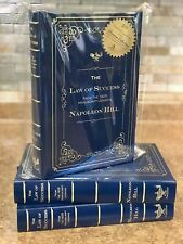 THE ORIGINAL 1925 LAW OF SUCCESS  NAPOLEON HILL H/COVER