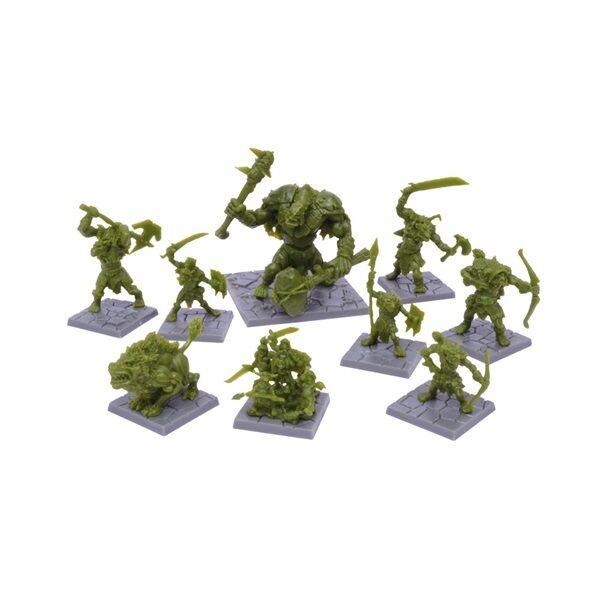 Mantic Games BNIB Dungeon Saga  Green Rage Miniatures Set MGDS20