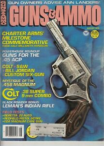 Guns-amp-Ammo-Magazine-August-1979-Colt-38-458-Magnum-Beretta-22-auto