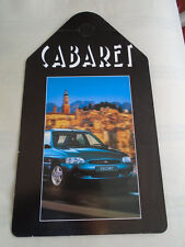 Ford Escort Cabaret Showroom Rear View Mirror Hanger brochure c1996 ref SP 5164