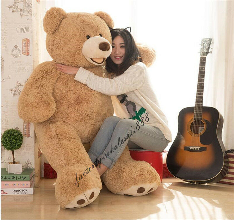 24in.- 58in.Giant Big Hung USA  Teddy Bear Plush Baby Soft Toys Doll kids gift