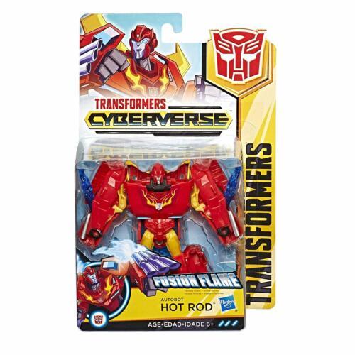 Transformers Cyberverse ~ HOT ROD Action Figure ~ RID Warrior Class