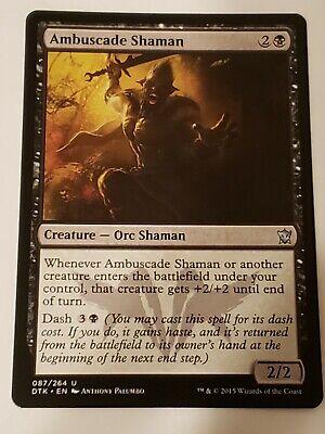 4x Ambuscade Shaman MTG Dragons of Tarkir NM Magic Regular