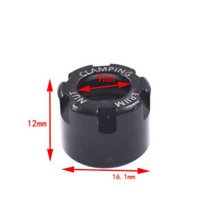 ER11M Collet Clamping Nuts for CNC Milling Chuck Holder Lathe Tool chuck