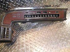 1972 72 lincoln continental dash speedometer panel bezel trim