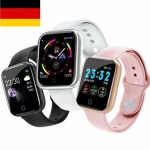 Bluetooth Smartwatch Armbanduhr Fitness Tracker Herzfrequenzmessung Wasserdichtk