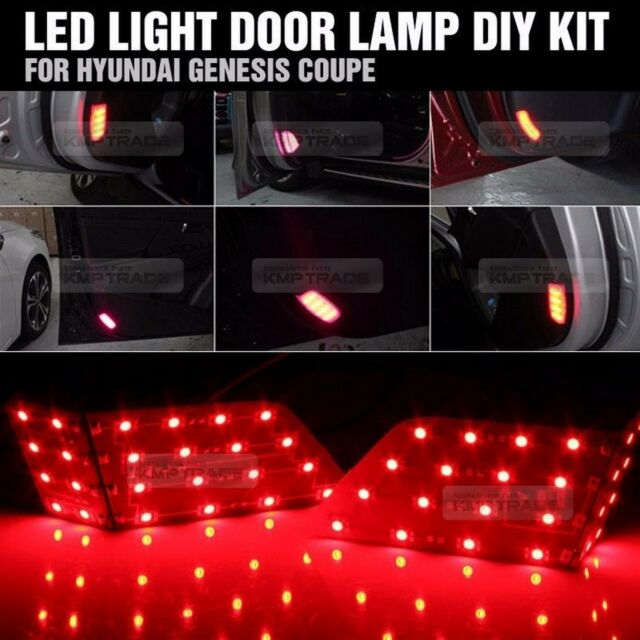 Inside Door Courtesy LED Light Lamp Module Kit for HYUNDAI 09-17 Genesis Coupe