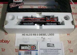 ATLAS-CLASSIC-HO-ROCK-ISLAND-ROAD-497-ALCO-RS-3-DCC-SOUND-MRC-1622-NEW-IN-BOX