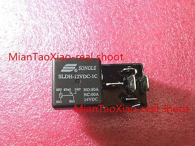 60A 14VDC SONGLE Relay # 10pcs New SLDH-12VDC-1C NO 80A NC
