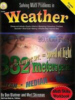 Solving Math Problems In Weather, Grades 5-8+