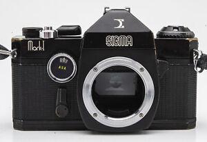Sigma-Mark-1-Gehaeuse-Body-SLR-Kamera-analoge-Spiegelreflexkamera