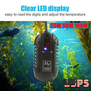 25-100W-Aquarium-Digital-Temperature-Controller-Fish-Tank-Reptile-Tank-Heater-US