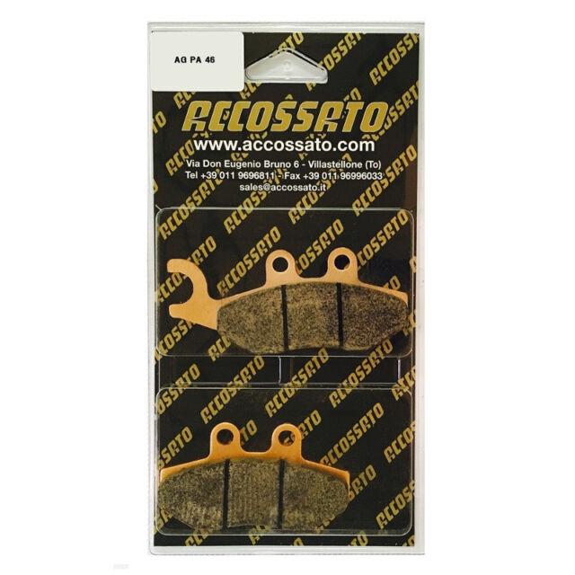 Pastilla de Freno Delantero Accossato Piaggio >200 Carnaby (2008-)