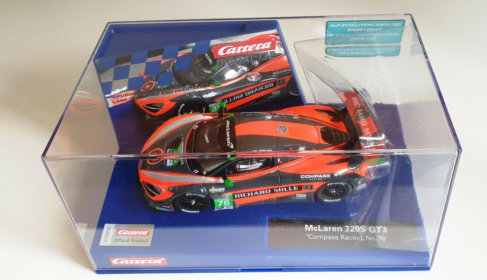 30893 voiturerera Digital 132 McLaren 720S GT3  Compass Racing No 67  NEU     OVP