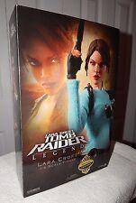 "Rare Sideshow Exclusive Tomb Raider Lara Croft 12"" Figure NIB Angelina Jolie WOW"