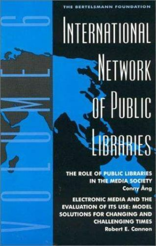 International Network of Public Libraries Vol. 3 : Product-Oriented Management i